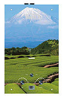 """Газовый проточный водонагреватель Matrix принт """"гора Фудзияма"""" (стекло) - 10 л\мин"""