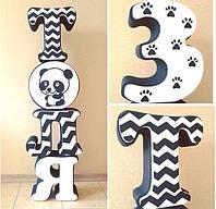 Объемные буквы для декорации