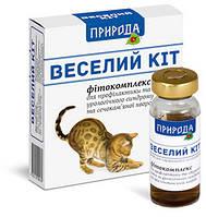 """Фітокомплекс для профілактики МКБ «Веселий Кіт» 3 флк. х 10 мл. """"Природа"""""""