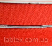 Лента липучка 25 мм.красн.№148(25 м)(20 компл.в ящ)