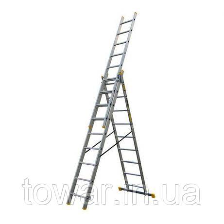Лестница-стремянка двухсекционная 3 Х 9 выс. 5.6 м BAYERSYSTEM