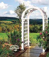 Арка Эдем-4 садовая для вьющих растений деревянная