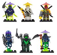 Набор #2 Лего Ниндзяго мини фигурки Аналог Конструктор Игрушки