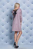 Платье женское со шнуровкой персик, фото 1