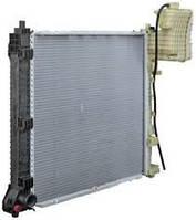 Радиатор CDI +АС MERCEDES Vito 638 не оригинал