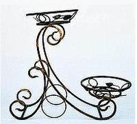 Кованая подставка для цветов Сани 2, фото 1