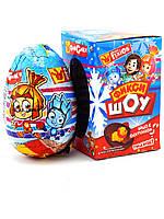 Яйцо шоколадное Фиксики 12 шт, 60 гр