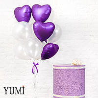 Стильное оформление из воздушных шаров для девушки