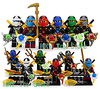 Набор #3 Лего Ниндзяго мини фигурки Аналог Конструктор Игрушки