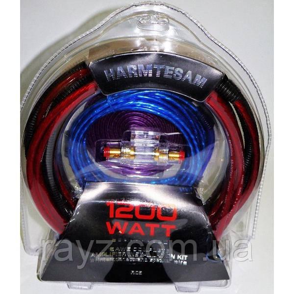 Набор акустических кабелей для усилителя/сабвуфера Harmtesam RC6 1200W