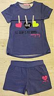 Комплект 2 в 1 для девочек оптом, Sincere, 98-128 см,  № LL-2283, фото 1