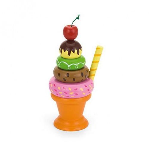Мороженное с фруктами. Вишенка игровой набор Viga Toys (51322)