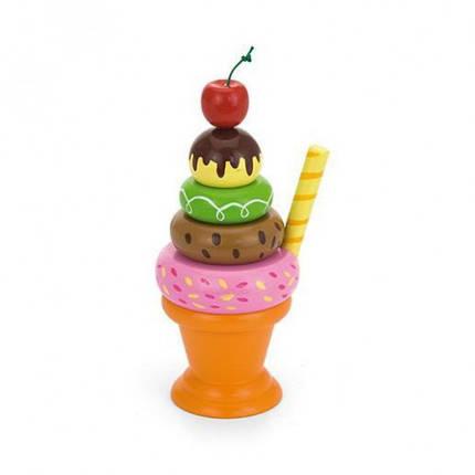 Мороженное с фруктами. Вишенка игровой набор Viga Toys (51322), фото 2