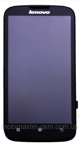 LCD модуль в рамке Lenovo A560 черный