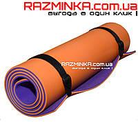 Каремат Турист Профи (Tourist Profi) фиолетово/оранжевый цв.