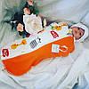 Пеленка-кокон для новорожденных