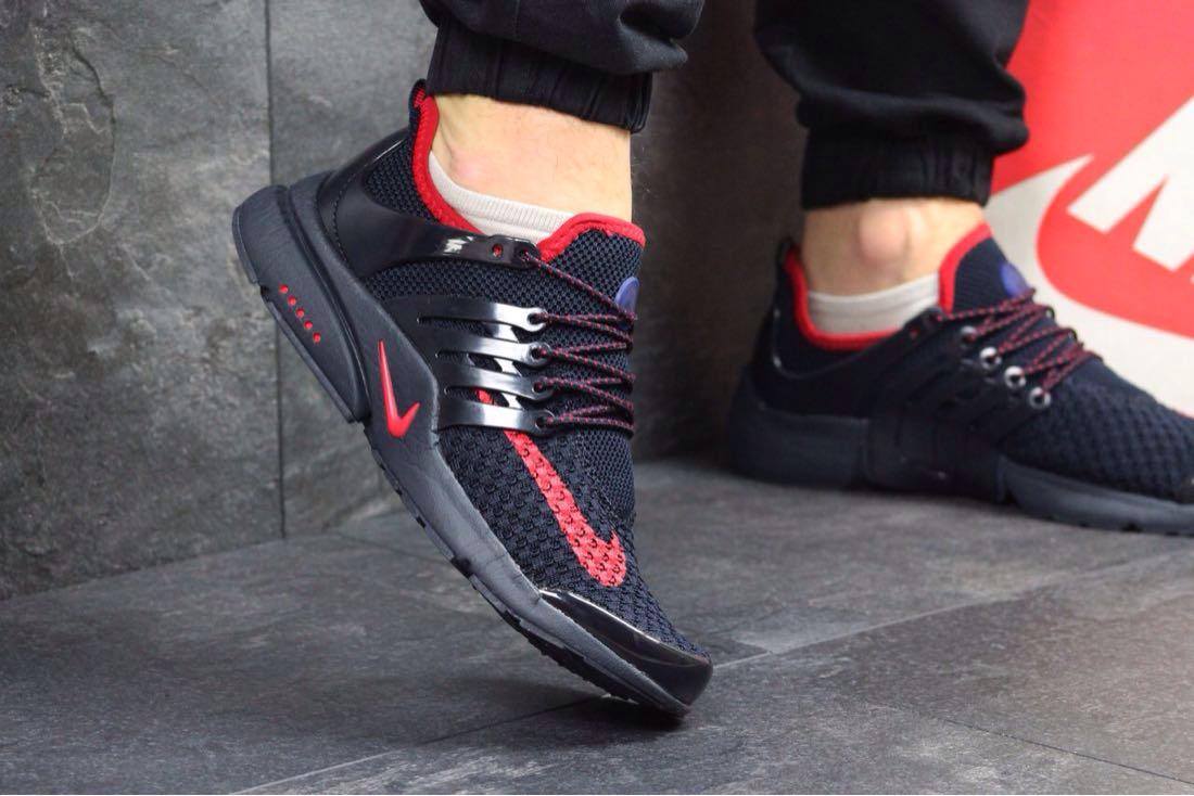 Nike Air Presto черно-красные, мужские - 4UСHOISE - твой выбор! в Киеве e859fe22d76