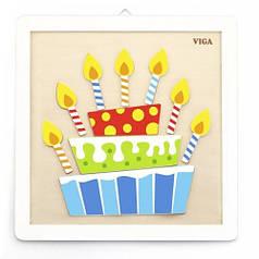 Набор для творчества Viga Toys Своими руками. Торт (50684)