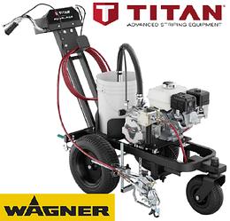 Машина для нанесения дорожной разметки TITAN PowrLiner 3500