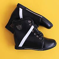 Демисезонные ботинки Сникерсы на девочку подростковые полусапожки Tom.m р.37