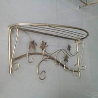 Кованая вешалка Овал 80см, фото 1