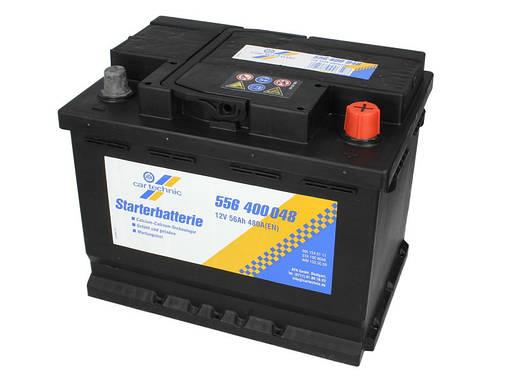 Аккумулятор Cartechnic 56Ah/480A ULTRA POWER (R+) 242x175x190 B13, фото 2
