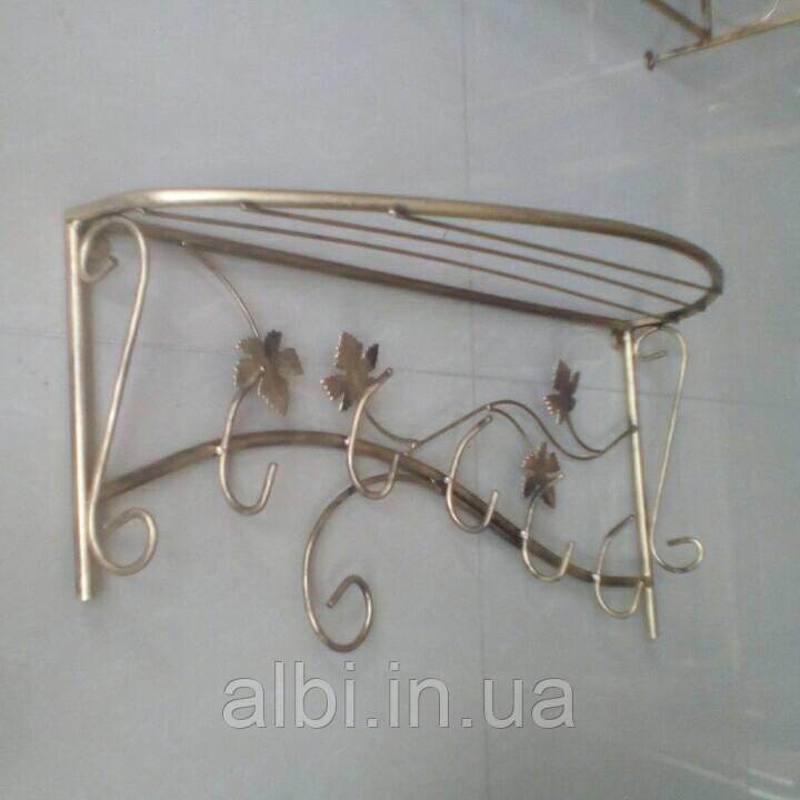 Кованая вешалка Овал 65см