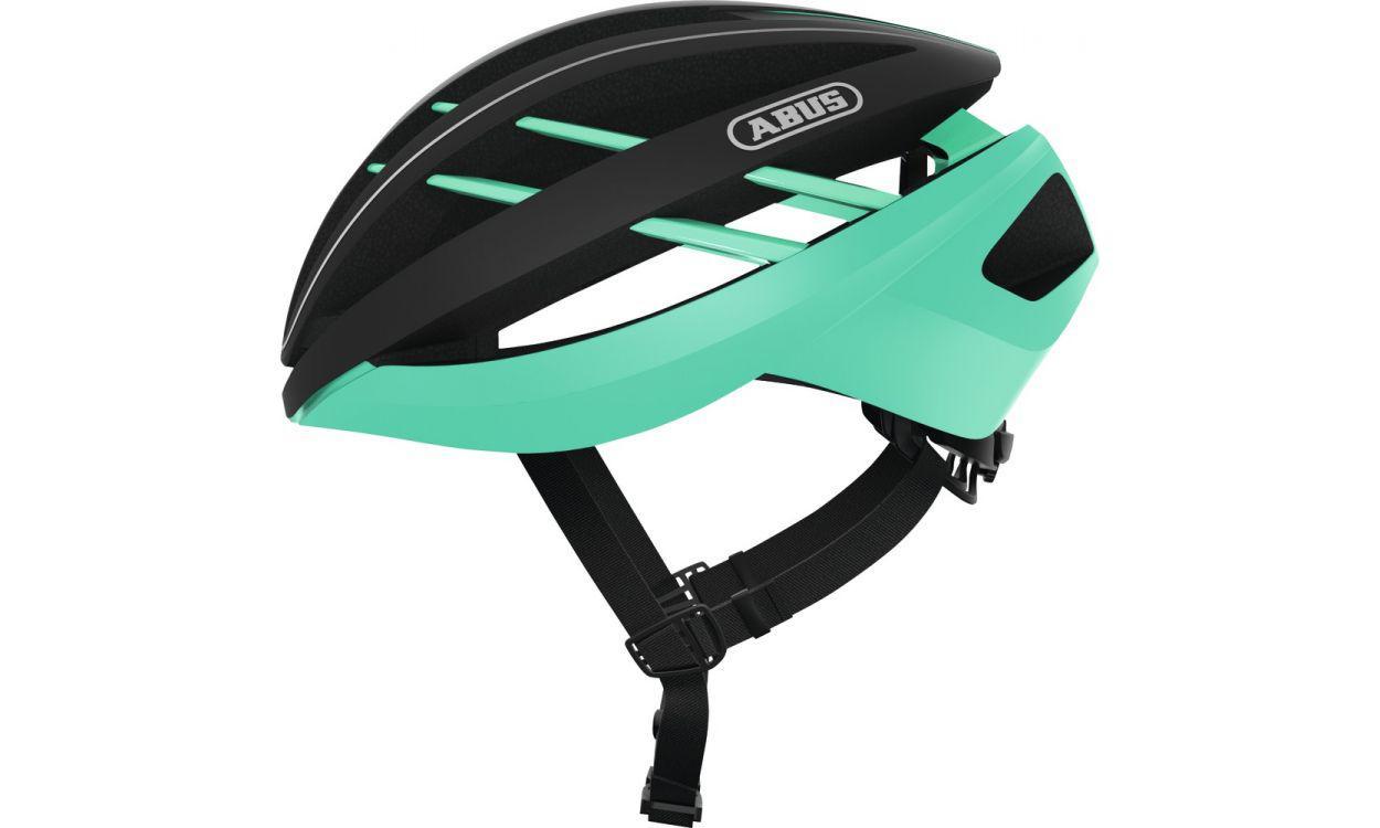 Велошлем ABUS AVENTOR Celeste Green (S) 2018