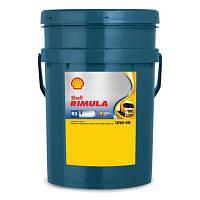 Моторное масло Shell Rimula R5 Е 10W-40 (20 л) API CI-4, CH-4, CG-4, CF-4, CF; ACEA E7, E5, E3