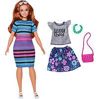 Кукла Барби Модница с набором одежды / Barbie Fashionistas 85 Happy Hued Doll & Fashions – Curvy