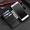 """Xiaomi Redmi 3 Pro оригинальный кожаный чехол книжка кошелёк с карманами противоударный на телефон """"ASPENZ"""", фото 4"""