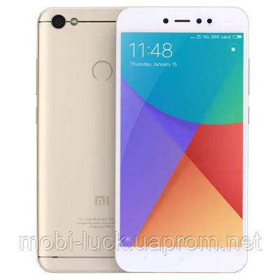 Оригинальный смартфон Xiaomi Redmi Note 5A   2 сим,5,5 дюйма,8 ядер,32 Гб,13 Мп,3080 мА\ч.