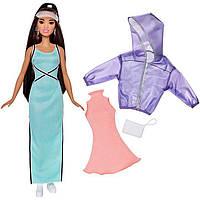 Кукла Барби Модница с набором одежды / Barbie Fashionistas 87 Sweet & Sporty Doll & Fashions – Original