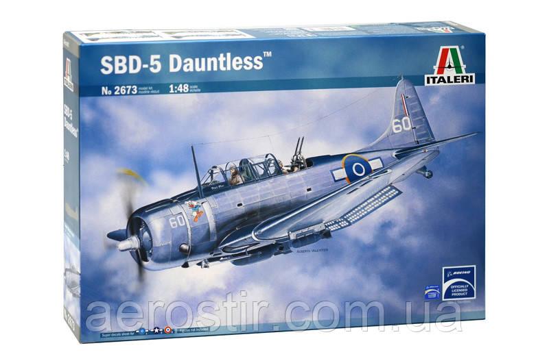 SBD 5 Dauntless 1/48 ITALERI 2673