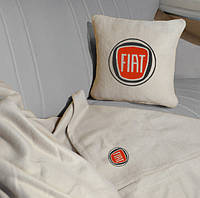 """Автомобильные плед в чехле с логотипом """"Fiat"""" цвет на выбор"""