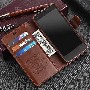 """Xiaomi Redmi 2 Enhanced Edition оригинальный кожаный чехол книжка кошелёк с карманами противоударный  """"ASPENZ"""""""
