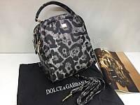 НОВИНКА! Брендовый рюкзак-сумка Dolce&Gabbana в леопардовом цвете 1801, фото 1