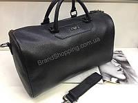 Спортивно-дорожная сумка Armani Jeans Lux из кожи 1833, фото 1