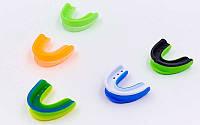 Спортивная защита зубов односторонняя (одночелюстная) двухкомпонентная ZEL BO-4512