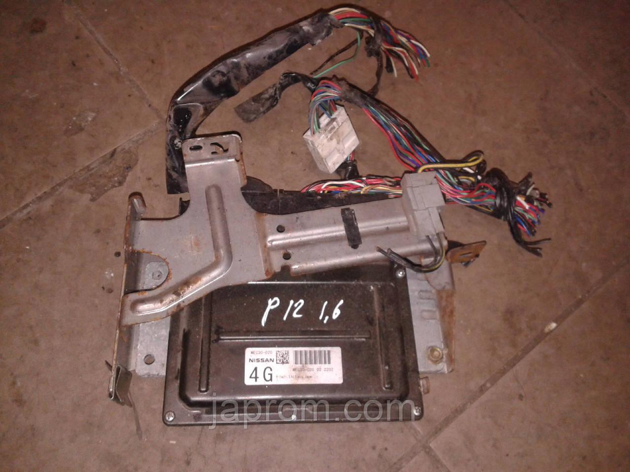 Блок управления двигателем Nissan Primera P12 2002-2008г.в. 1.8  бензин