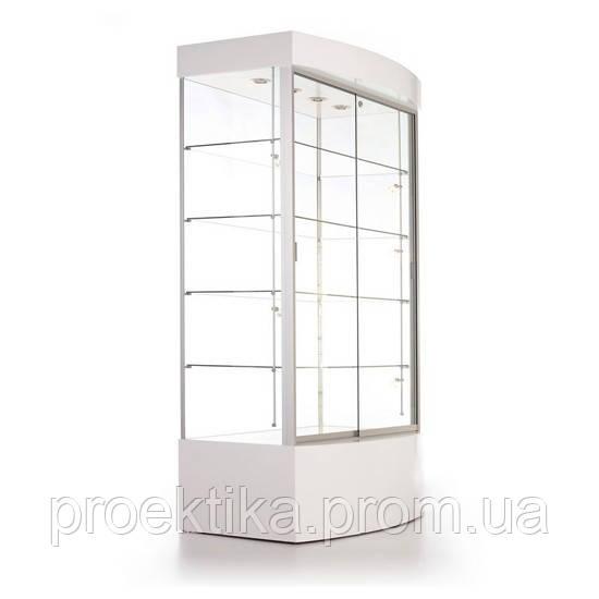 Витрина стеклянная из алюминиевого профиля Al-01 - фото 2