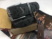 Шикарный ремень Louis Vuitton 4.5см из натуральной кожи в подарочной упаковке 1857, фото 1