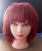 Каштановый(бордо) парик каре в интернет магазине цвета в ассортименте