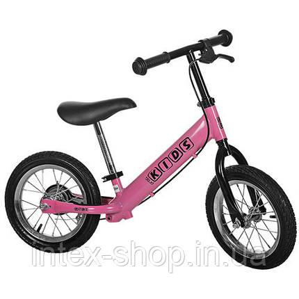Беговел Profi Kids M 3440 AB-2 (розовый), фото 2