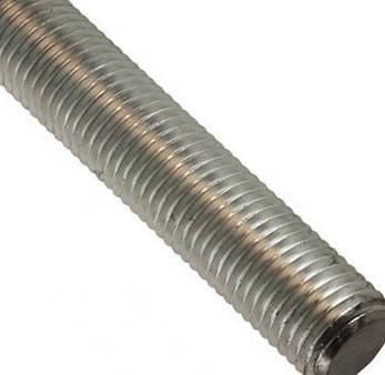 Шпилька різьбова М10 DIN 976   повна різьба, розмірна, клас міцності 8.8, фото 2