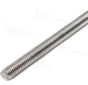 Шпилька резьбовая М10 DIN 976 | полная резьба, размерная, класс прочности 8.8
