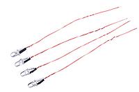 Красные борторвые огни Hubsan H107C/H107D