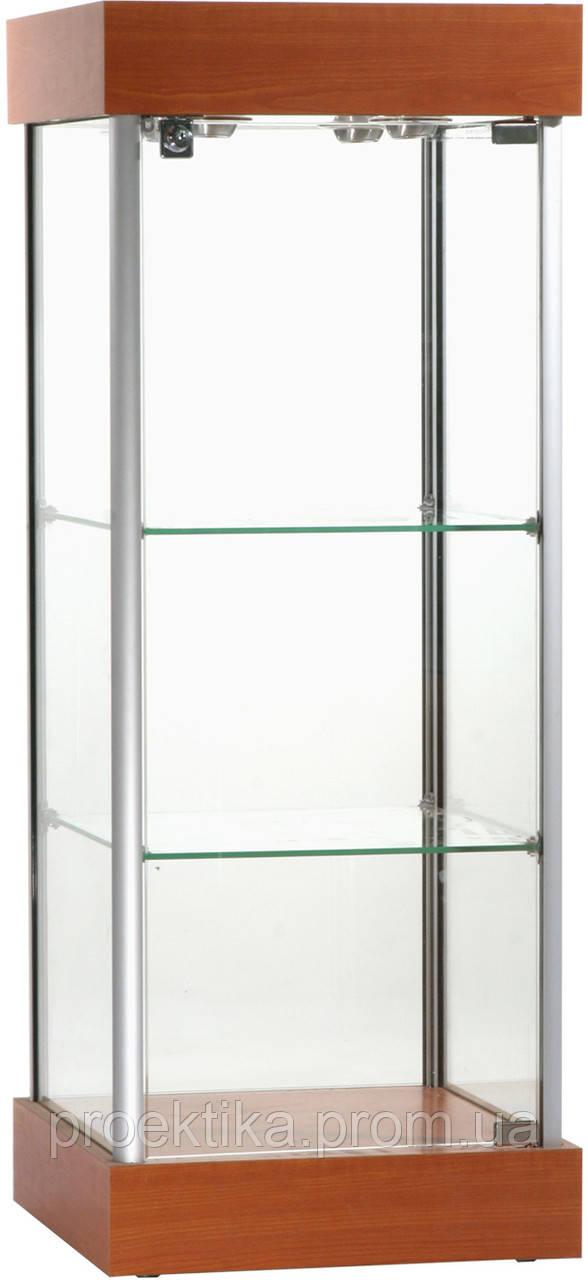 Витрина стеклянная из алюминиевого профиля Al-01 - фото 4