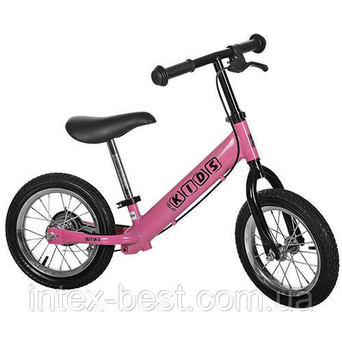 Беговел Profi Kids M 3440 AB-2 (розовый)