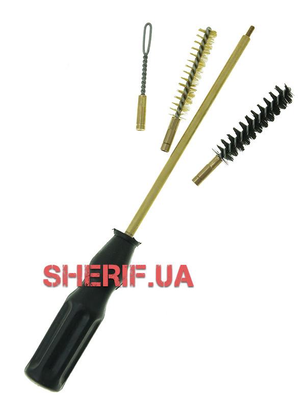 Набор для чистки 9мм  (пистолетный) кал. 9 (ПВХ упаковка) 9mm  09134